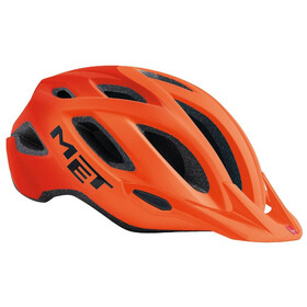 MET Crossover Bike Helmet orange/black